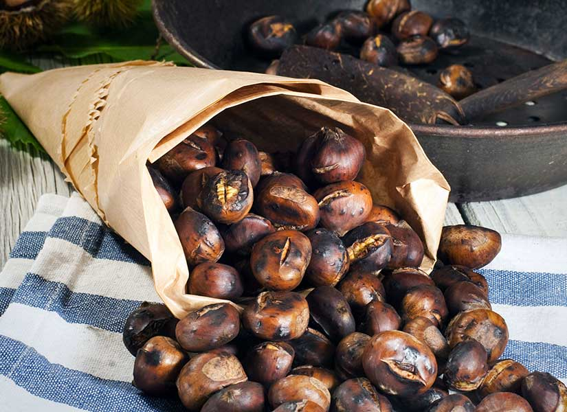roasted chestnuts - tricycle temptations